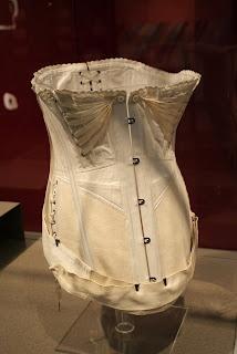 maternity and nursing corset (from Kelvingrove Museum)
