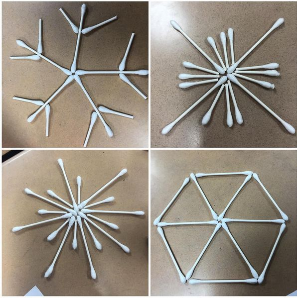 Image result for q tip snowflake activity