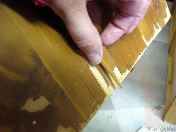 1000 Ideas About Refinishing Laminate Furniture On