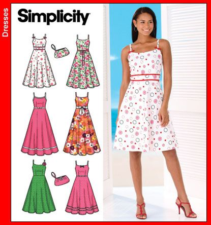 Simple Dress Patterns For Beginners Patterns
