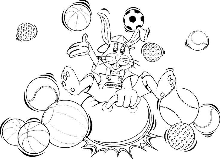 Eenhoorn Fantasy Kleurplaat Tekening Van Koos Konijn Veel Plezier Met Inkleuren