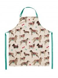 Dogs Cotton Apron W D-ring