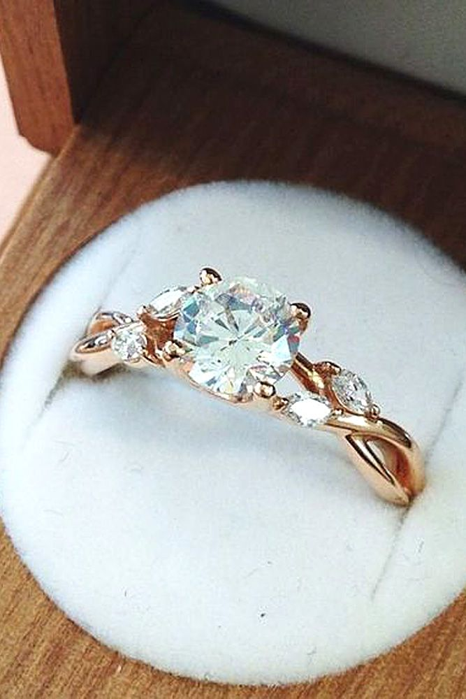 25+ best ideas about Gold engagement rings on Pinterest