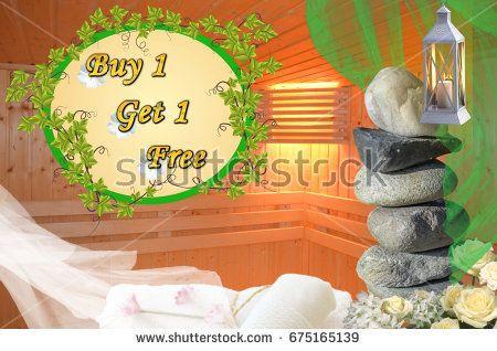 Buy 1 Get 1 Free title on sauna background with stones, lantern, flowers, towels, veils https://www.shutterstock.com/hu/image-photo/buy-1-get-free-tittle-on-675165139?src=GK7TPfzOMgzoceLqIyiBAQ-1-2  Portfolio: https://www.shutterstock.com/g/Somogyi+Timea?rid=176104528&utm_medium=email&utm_source=ctrbreferral-link