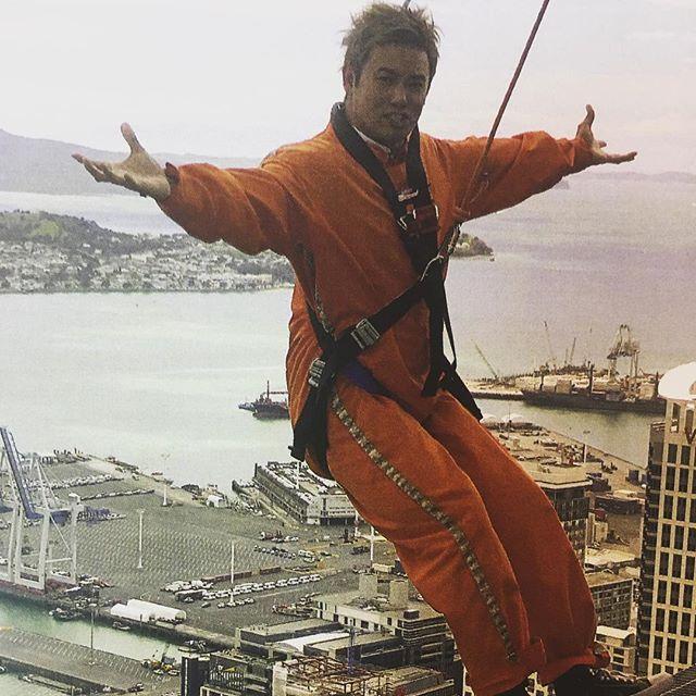 怖かった!楽しかったけど! #ajhackettbungynz #skywalk #怖い #楽しい #ニュージーランド #オークランド #nz #fun #スカイウォーク #rainmaker