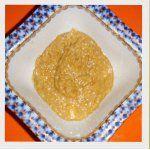 Тахина - паста из кунжута