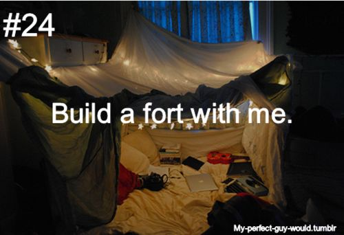because who doesnt love a good fort?!
