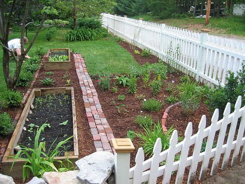images about Small Garden Fence Ideas on Pinterest