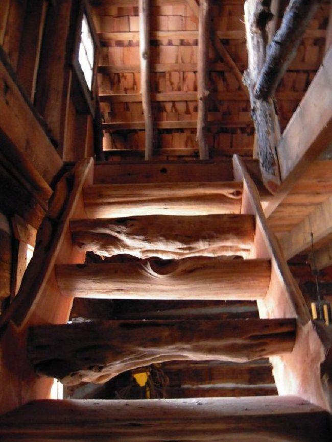 Разрушенная хижина 1830-го года