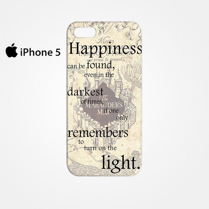 The Mauders Map Quote for Iphone 4/4S Iphone 5/5S/5C Iphone 6/6S/6S Plus/6 Plus 3D Phone case