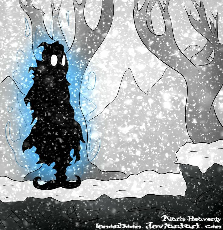 """What a pretty Nihilumbra fanart! its """"made in Belarus"""" by our fan LemonBoom. Makes me feel cold and relaxed at the same time! Source: http://lemonboom.deviantart.com/art/Nihilumbra-sketch-428709570"""
