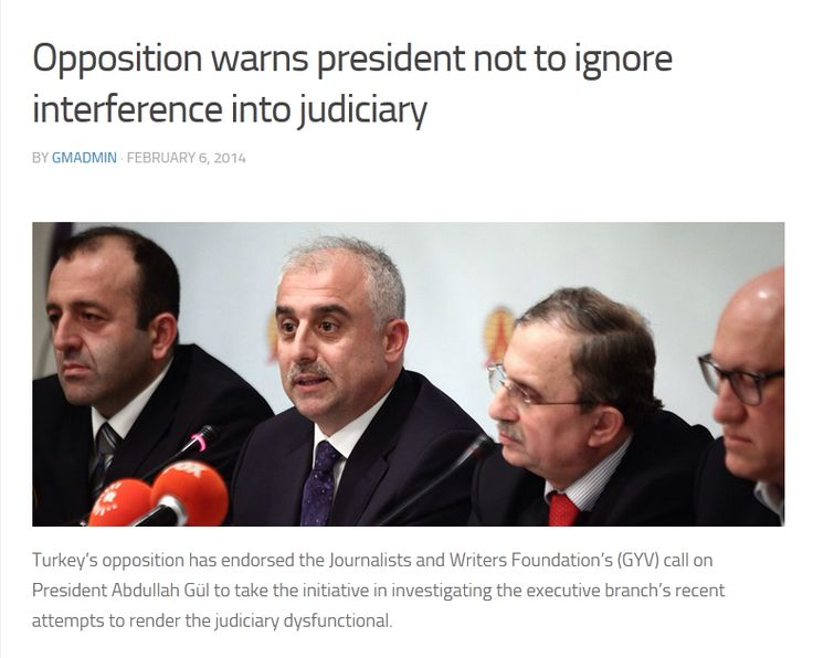 Opposition warns president not to ignore interference into judiciary  http://gulen-movement.net/news/opposition-warns-president-ignore-interference-judiciary/