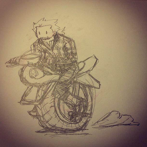 doodle - One-Wheel