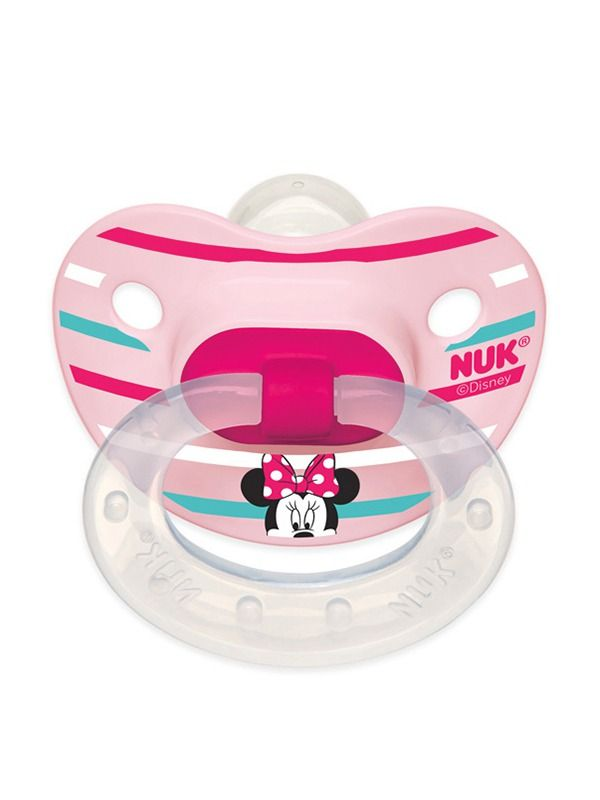 Disney Baby Mickey Mouse and Minnie Mouse Orthodontic Pacifiers | NUK