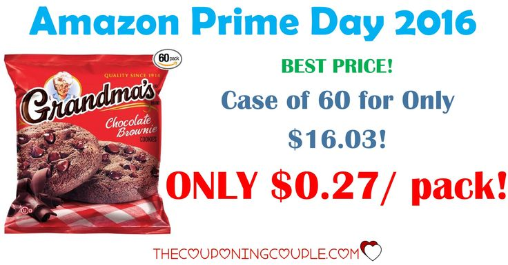 HOT BUY!! Get Grandma's Cookies for only $0.27 per 2 cookie pack SHIPPED! Stock the pantry at this price for a quick addition to a sack lunch or snack!  Click the link below to get all of the details ► http://www.thecouponingcouple.com/grandmas-cookies-only-0-35-per-2-cookie-pack-shipped/ #Coupons #Couponing #CouponCommunity  Visit us at http://www.thecouponingcouple.com for more great posts!