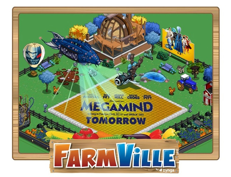 Now Movies Are Advertising In FarmVille