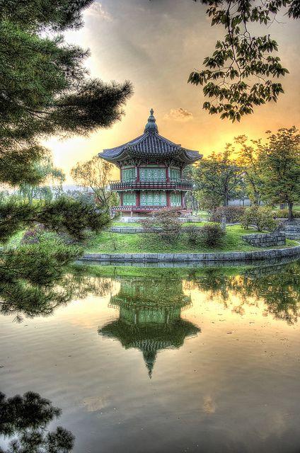 Gyeongbokgung Palace, de Seúl, Corea