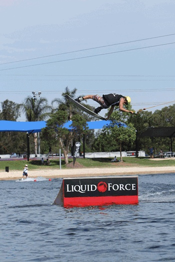 So keen to get back down :) Cables Wake Park in Western Sydney