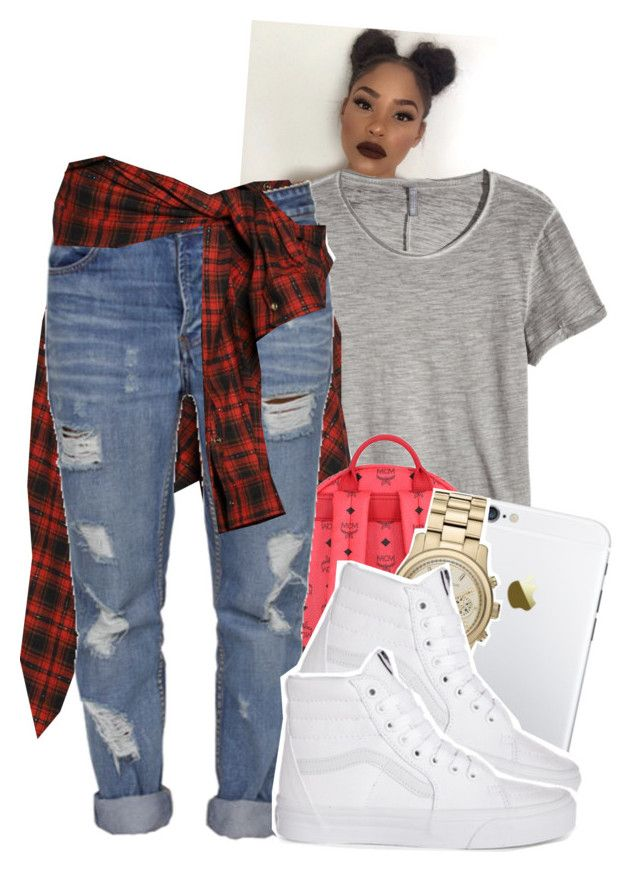 """""""I'm """" by tonibalogni ❤ liked on Polyvore featuring Faith Connexion, MCM, Standard Jean Co, Michael Kors, women's clothing, women's fashion, women, female, woman and misses"""