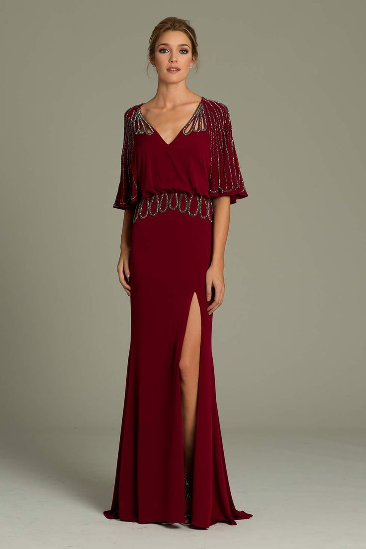 Zahra evening dress for cruise