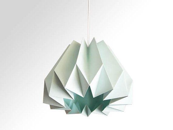 Hoi! Ik heb een geweldige listing gevonden op Etsy https://www.etsy.com/nl/listing/165327716/pumpkin-origami-paper-lamp-shade-mint