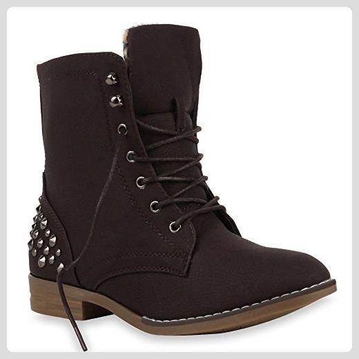 Tamaris Stiefel Stiefelette Fell schwarz Gr 38 leather boots bootee black