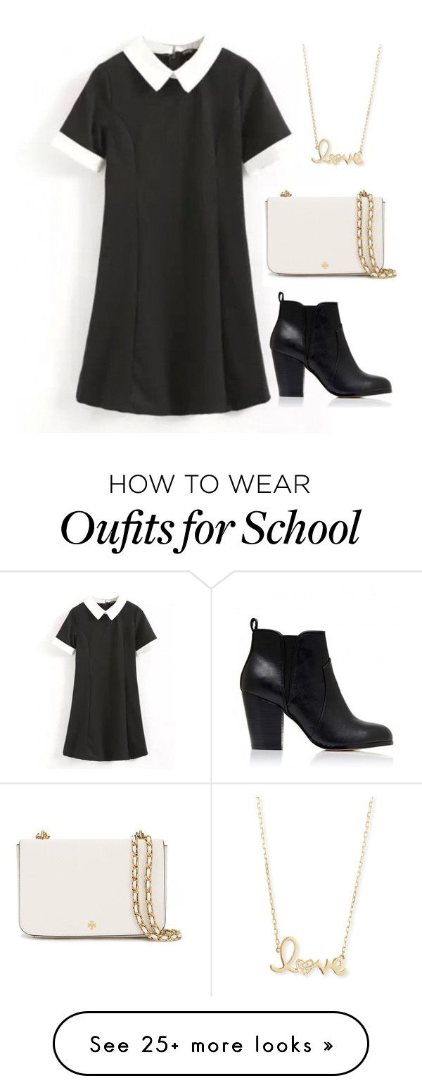 """""""Untitled #1251"""" by r-redstall on Polyvore featuring Forever New, Tory Burch and Sydney Evan"""