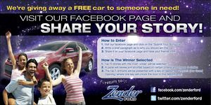 Please vote for me !!!I just entered the Let us change the life of someone who needs a helping hand with a brand new 2013 Ford Focus! contest from Zender Ford.