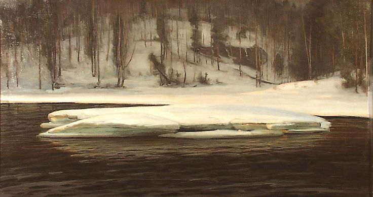 Victor Westerholm: Valley on the Kymi River, 1901.