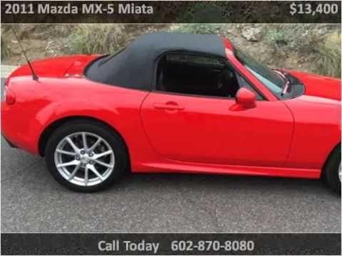 2011 Mazda MX-5 Miata Used Cars Phoenix AZ