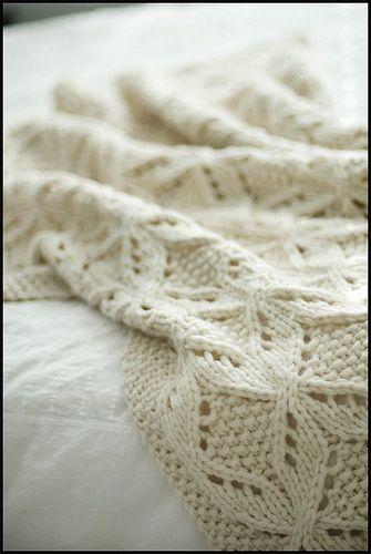 368 best Knit Blankets images on Pinterest