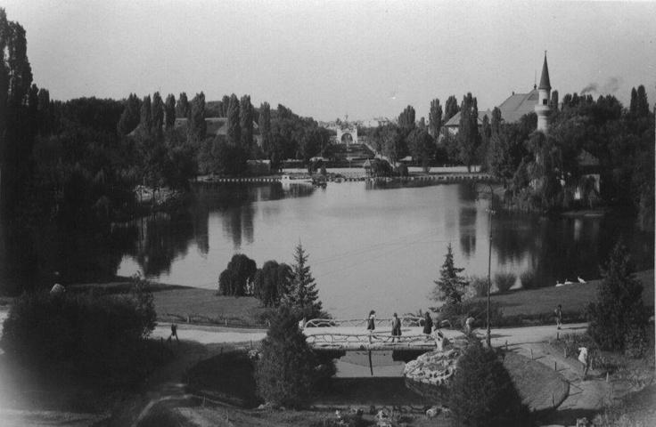 Bucuresti - Parcul Carol - interbelica