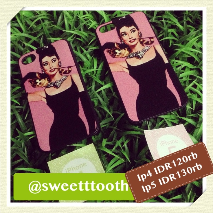 Audrey Hepburn for iphone 4/4s, IDR120.000