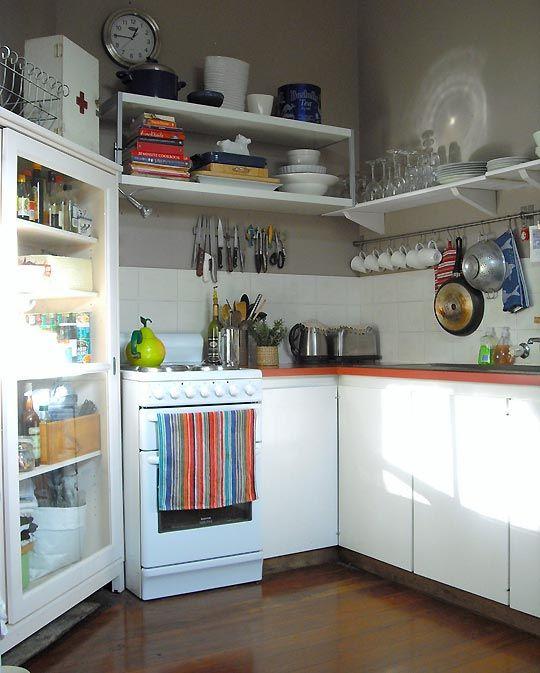 tiny kitchen organization