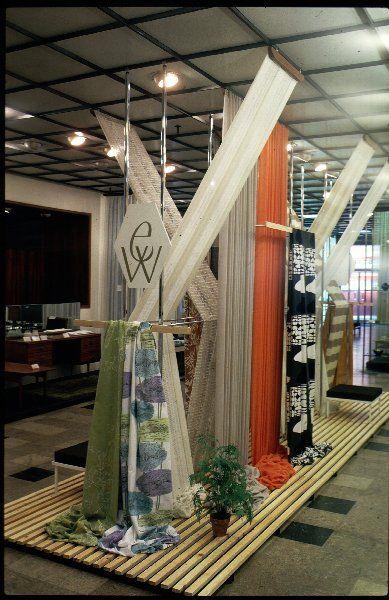 Edinburgh Weavers Firm Display Of Textiles