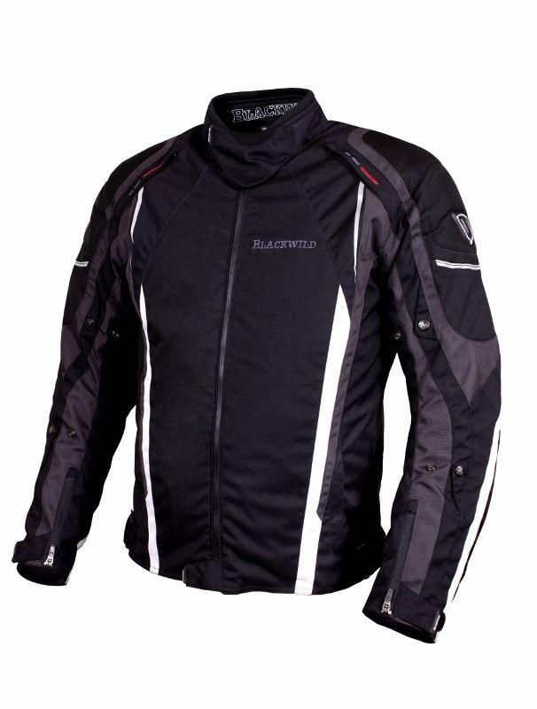 Blackwild Arkansas Herren motorradjacke,Schwarz, UVP 189€,Gr. M, L, XL, XXL
