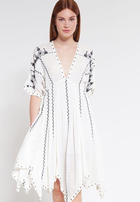 Robes Denim & Supply Ralph Lauren VICTOIRE - Robe d'été - antique cream blanc cassé: 131,00 € chez Zalando (au 19/02/17). Livraison et retours gratuits et service client gratuit au 0800 915 207.