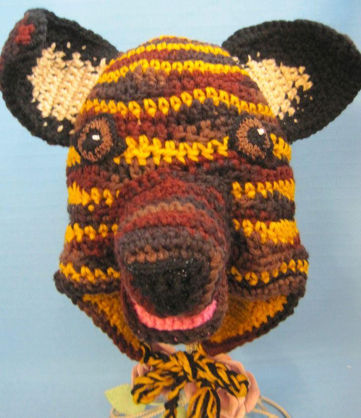 Character Animal Hat Puppy Dog Dutch Shepard Adult Custom Crochet by Bren by HandCraftedByBren on Etsy