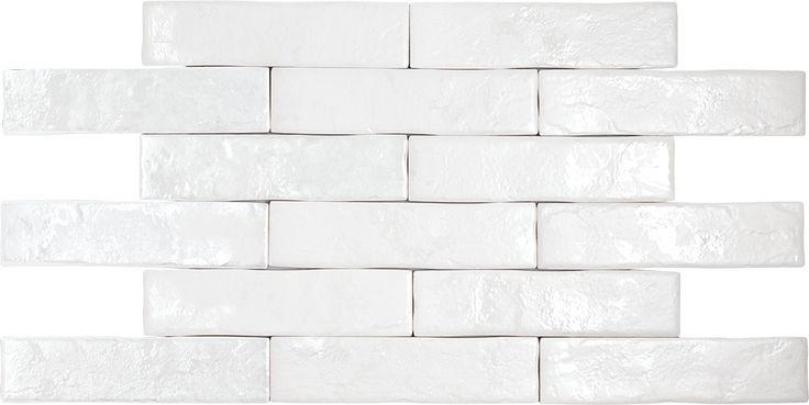 Настенная / напольная плитка (керамогранит) Brickwall Blanco 7x28
