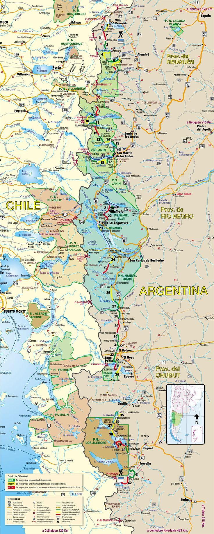 Mapa de Huella Andina | Huella Andina