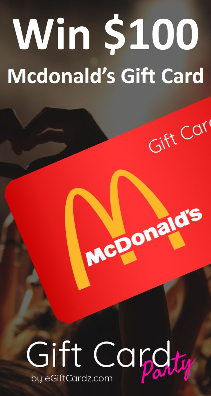 Best 25 mcdonalds vouchers ideas on pinterest rustic wedding just get in to win a 100 mcdonalds gift card 1betcityfo Image collections
