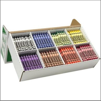 Crayola® Large Crayon Classpack®