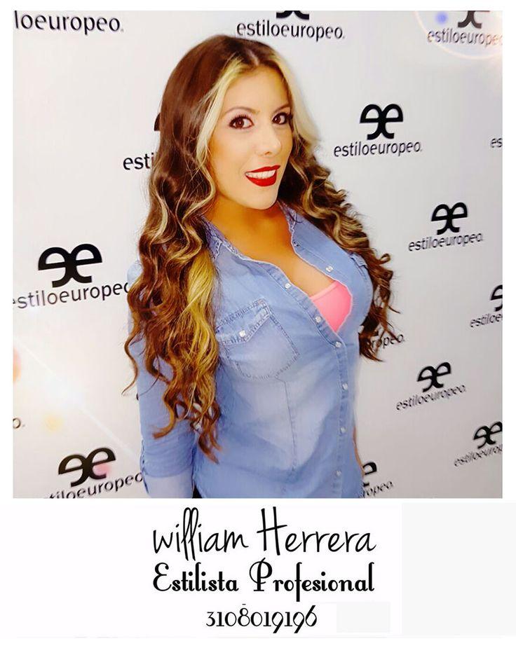 ¡Look de ondas y make up elegante donde se resaltan labios con el eterno rojo sensual <3 ! Ven y asesórate conmigo! ¡Un abrazo de tu amigo, William Herrera! #MakeUp #Maquillaje #Belleza #MAC #CaliCo #Cali #Colombia #CaliEsCali #Hermosas #Recogidos #Pro #Estilista #Profesional #Natural #Mujeres #Look #Style