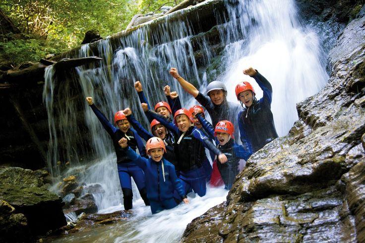 Canyoning Kinderprogramm #tiroleroberland