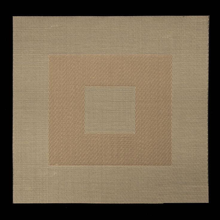Dekoracyjne podkładki kwadratowe w kolorze beżowym