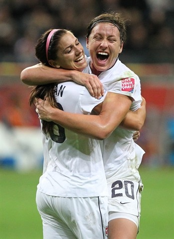 US Womens Soccer 2012 London Games