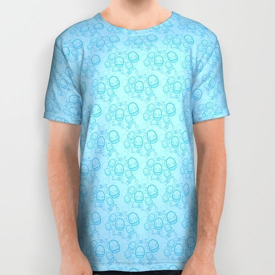 All over printed Spaztic Bot shirt from Society6. Robots everywhere! #robot #robots #shirt #geek #nerdy #sciencefiction #society6 #pattern #rock and roll
