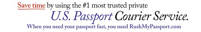 passport renewal, passport application- this place rushes  them!