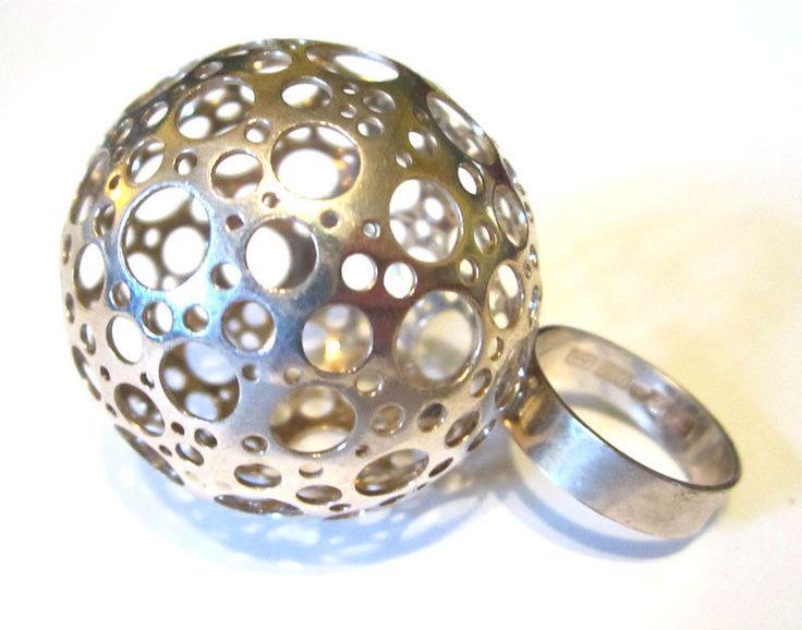 HUGE ring, Liisa Vitali