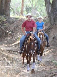 10 Tips for Safe Trail Rides  to get ready after several weeks off. Some good schooling tips.